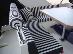 Striped Interior